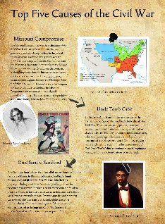 top five causes of the civil Free essay on 3 reasons that led to the civil war  top essays top members  in five pages this paper examines the us civil war and considers the.
