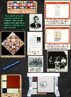 Piet Mondrian Interactive Learning Page