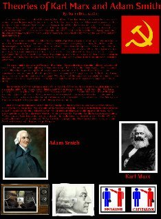Theories of Karl Marx and Adam Smith