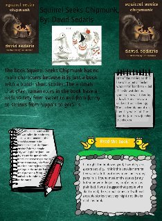 book poster project