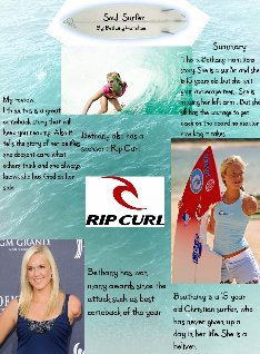 Soul surfer book summary