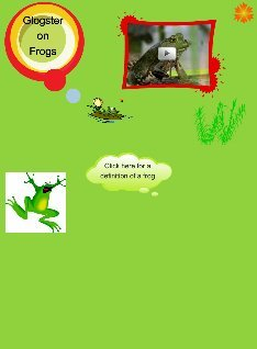 Glog of frogs