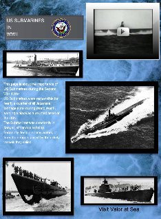 US Submarines in WWII
